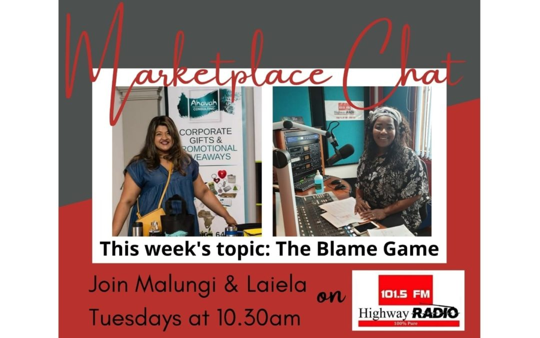 Marketplace Chat – The Blame Game